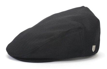brixton-hooligan-hat-in-black-herringbone-twill-small-black-herringbone-twill
