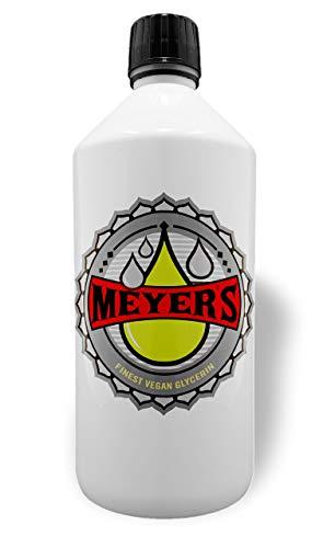 Meyer\'s veganes Glycerin rein planzlich, Pharmaqualität 99,7{ee9343922383529d97b07079537c0f2bb196ac2ce51efe9bc18e686086a1e5c9}