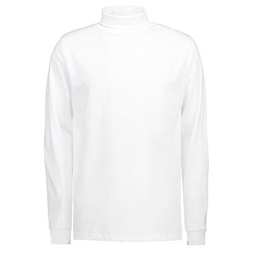 Pionier 41221-L T-Shirt/Rollkragen 546 T-Time Größe L, Schwarz, L Weiß