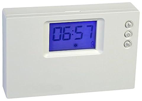 Thermostat programmable numérique journalière à piles