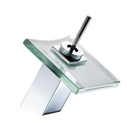 GROHES Hochwertige Glas Wasserfall Waschtischarmatur Waschbecken Wasserhahn Im Badezimmer Spüle Mischbatterien Moderne Mit Schläuchen