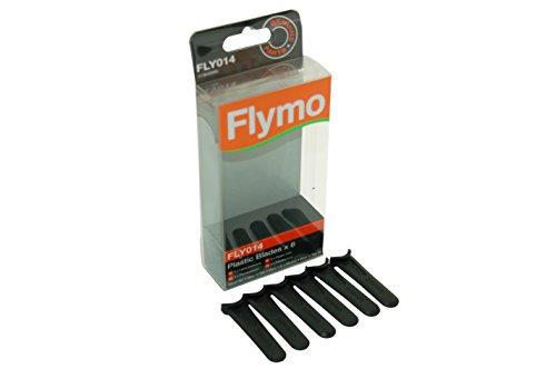 Lames en plastique pour tondeuse à gazon Flymo 5138469902 014-6 mouches