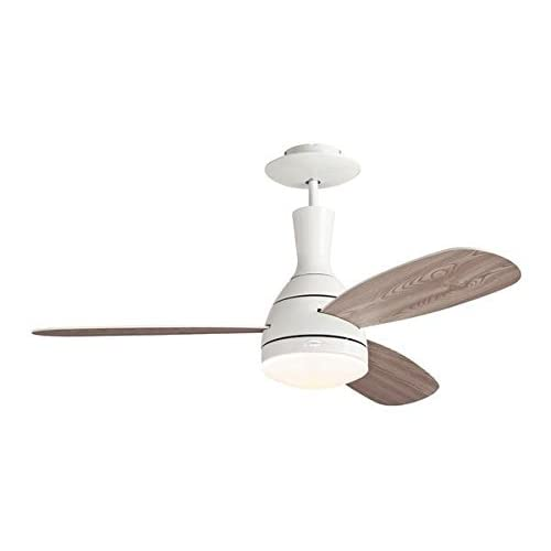 Westinghouse CUMULUS Ceiling Fan, Metal, R7s, 80 W, White