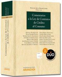 Comentarios A La Ley De Contratos De Crédito Al Consumo