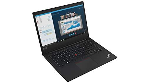 Lenovo ThinkPad E490 Intel Core i3 8th Gen 14-inch HD Thin and Light Laptop (4GB RAM/ 1TB HDD/ Windows 10 House/ Black/ 1.75 kg), 20N8S16400 Image 2