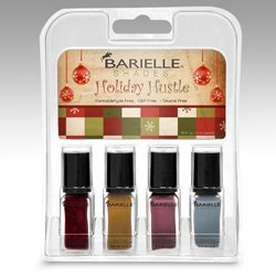 Barielle Ensemble de 4 petits flacons de vernis à ongles Holiday Hustle - 4,7 ml