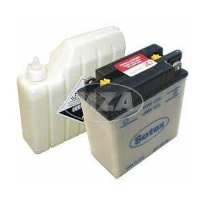 Batterie 6N11A-1B Sotex f. Simson S50, 51, MZ ES, TS 150, 250 (inkl. Säurepaket)
