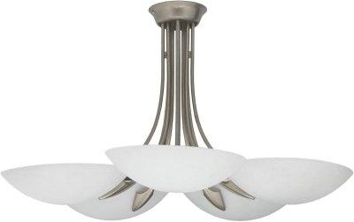 VENEZIA silver V Klassisches Design Deckenleuchte Deckenlampe Kronleuchter von Nowodvorski - Lampenhans.de
