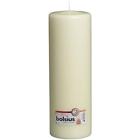 Bolsius-Candela a colonna, con confezione regalo, Avorio, 300x100