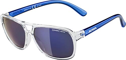Alpina Kinder Sonnenbrille YALLA clear-blue, One Size