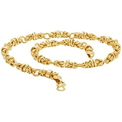 Voylla Singapore Link Chain with Yellow Gold Plating