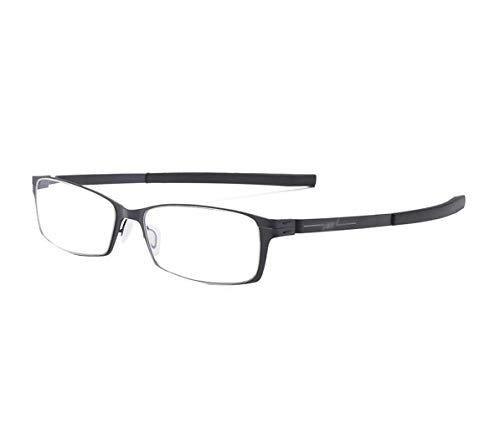 ZJEXJJ Weibliche weibliche präsbyopische Brille der weiblichen Lesung der weiblichen hochauflösenden einfachen eleganten bequemen Gläser des Alten Mannes (Farbe : SCHWARZ, größe : +1.5)