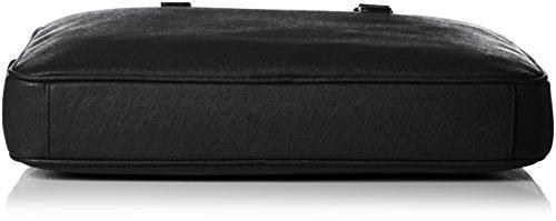 Armani Jeans0622BT2 - Borse a Tracolla Uomo Nero (Schwarz (NERO - BLACK 12))