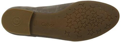Gabor 22614, Ballerines femme Gris (Minéral)