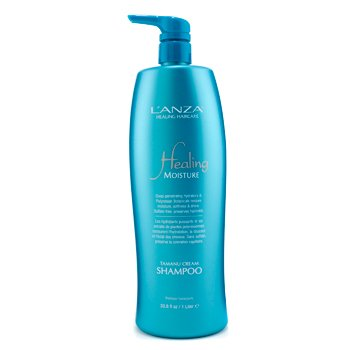 Healing Moisture by L'Anza Tamanu Cream Shampoo 1000ml