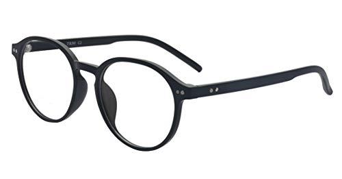 ALWAYSUV Klassische Nerdbrile Lesehilfe Retro Vintage Stil Myopie Brille Für Kurzsichtigkeit Herren...