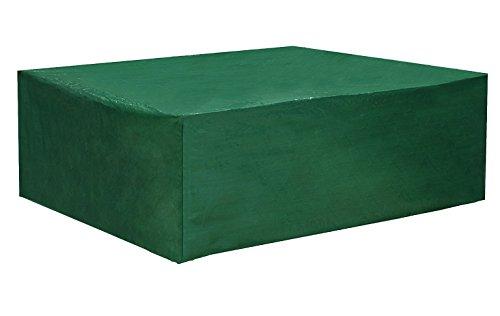 WOLTU Schutzhülle für Sitzgruppe Abdeckhaube Abdeckung Gartentisch Hülle Gartenmöbel Möbelsets Haube Abdeckplane 250x210x90cm GZ1197gn
