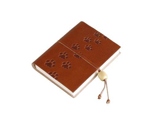 amarcord-bloc-notes-con-copertina-in-pelle-goffrata-con-chiusura-con-perlina-di-legno-motivo-impront