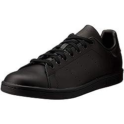 adidas Unisex-Erwachsene Stan Smith Sneakers , Schwarz , 44 2/3 EU EU
