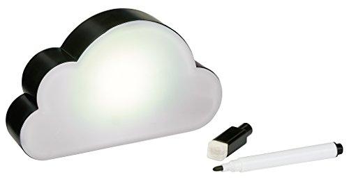 Moses Happy me Leucht-Wolke mit Radierstift | Lichtbox mit magnetischer Rückseite Kunststoff weiß
