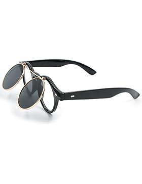 CoolChange occhiali da sole vintage con lenti a meccanismo Flip up