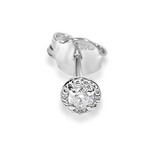 Mono Orecchino Oro e Diamanti Donna Uomo-375Oro Bianco 9Carati-0.04Carati Clicca su MILLE AMORI blu e scopri tutte le nostre collezioni