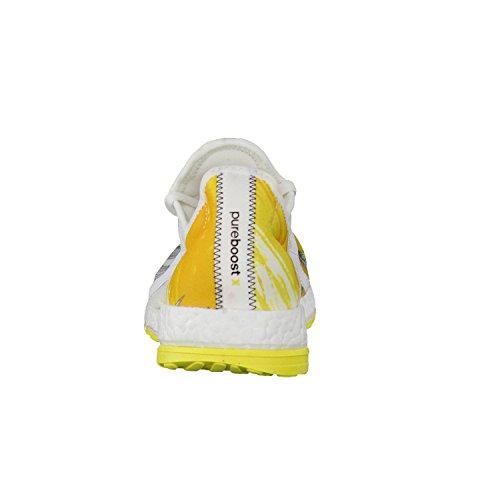 adidas scarpa donna Pure boost X corsa bianco / giallo