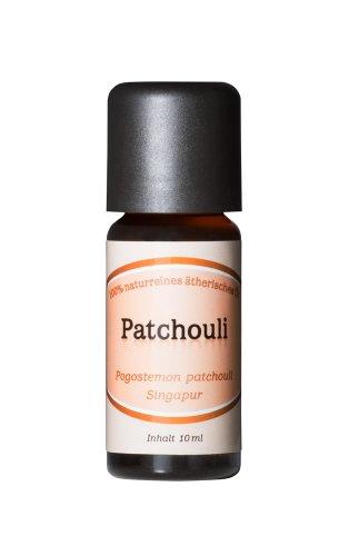Patchouli - 100% naturreines, ätherisches Öl aus Singapur, 10 ml -
