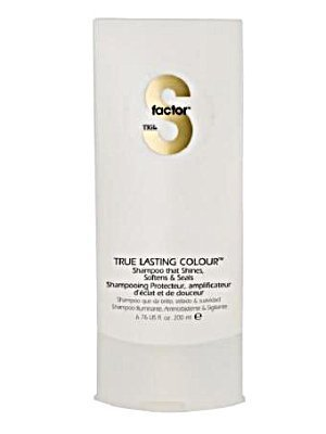 TIGI s Factor – True Lasting Colour – Shampoo That de Parcours, Softens & Seals . 200 ml by TIGI
