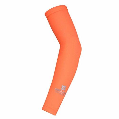 TXIU Arm Ärmel - UV-Schutz Anti-Rutsch-Kühler Kompression Arm Ärmel für Männer Frauen, geeignet für Radfahren Fahren Fußball Basketball Golf Wandern Running Baseball, L