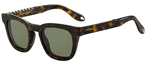 Givenchy gv 7006/s 1e 086, occhiali da sole unisex-adulto, marrone (dark havana/green), 48