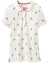 Joules Trinity Slim Fit Polo Cream Horse