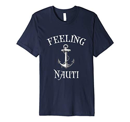 Funny Cruise Beach Vacation Gefühl Nauti Nautisches T-Shirt