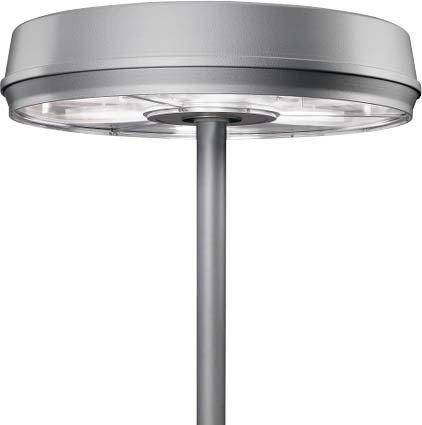 Siteco Post lampada 5na650e6sr 6x HST 150W siste llar Maxi strade e spazio luce 4039806250964