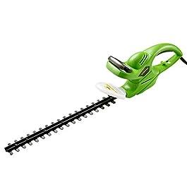 WORKPRO Taille-haies Électrique 500W 1500 trs/min, Taille-haies avec Fourreau de Protection, Longueur de Lame 460mm…