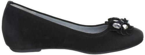 Caprice 9-9-22102-28 Damen Ballerinas Schwarz (BLACK NUBUC 8)