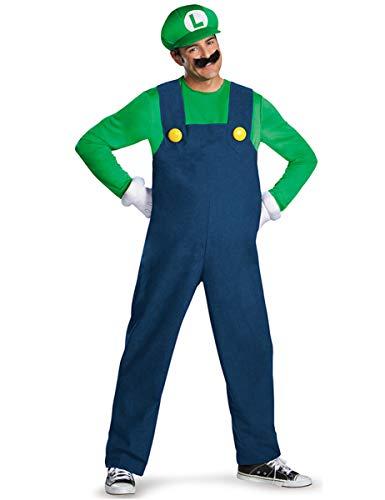 Luigi Kostüm L - Generique - Kostüm Luigi für Erwachsene