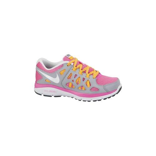 Nike , Chaussures de course pour garçon Multicolore - Rosa / Gris