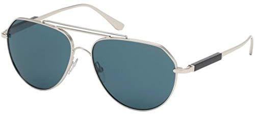 Tom Ford Sonnenbrillen Andes FT 0670 Silver/Blue Unisex