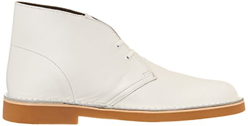 Clarks Herren Bushacre 2 Stiefel White Perforated