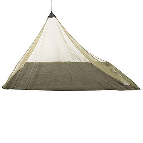 Happy Event Reisezelt Outdoor Campingzelt Sommer Ultra Light Mesh Netzabweisend Netzzelt Schutz für Survival Travel Outdoor (Grün)