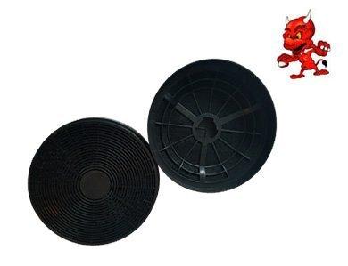 1 SET 2 Aktivkohlefilter Fettfilter Kohlefilter Filter KF 561 für Dunstabzugshaube Abzugshaube Bomann
