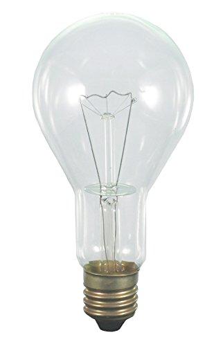 Scharnberger+Hasenbein 40587 E, L-Glühlampe, Glas, 300 W, E40, klar, 22 x 11 x 11 (Hat Lightbulb)