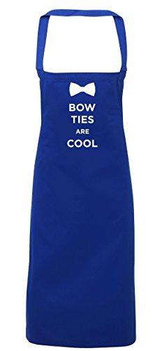 hippowarehouse Bow Ties Are Cool Schürze Küche Kochen Malerei DIY Einheitsgröße Erwachsene, königsblau, Einheitsgröße (Tuxedo-anzug Tie)