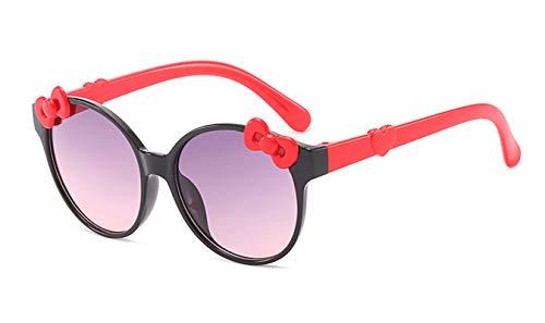 Epinki Damen Polarisiert Sonnenbrille Bow-knot Mode Brille UV400 Schutz | Vollrand | für Outdoor Sport, Reise - Schwarz
