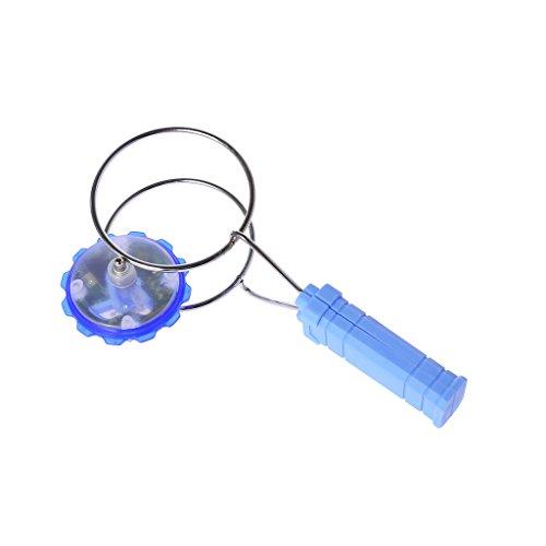 Senoow Magnetische Gyro-Rad Magic Spinning LED Bunte Licht Gyro YoYo Spielzeug Kinder Geschenke