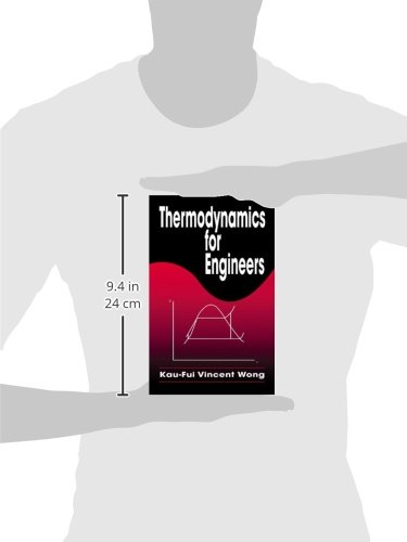 Thermodynamics for Engineers (Mechanical and Aerospace Engineering Series)