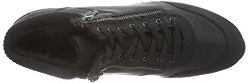 Rieker 56814 Damen Hohe Sneakers Schwarz (schwarz/schwarz/schwarz/schwarz / 01)