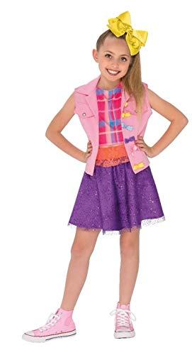 Rubie s 640736L JoJo Siwa Music Video Outfit Children s Fancy Dress  Costume f81936ad21df