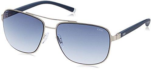 IDEE Gradient Square Men's Sunglasses - (IDS2067C3SG|60 Blue Gradient lens) image